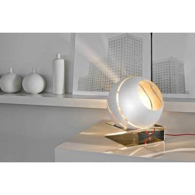 Terzani Bond One Light Table Lamp in White