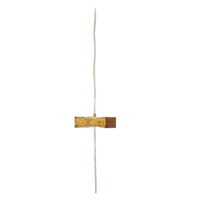 Terzani Liaisons Appliquees One Light Wall Sconce in Gold