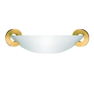 "Terzani Solune 5.1"" One Light Wall Sconce in Gold"