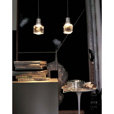 Terzani Kristal E Cube One Light Pendant