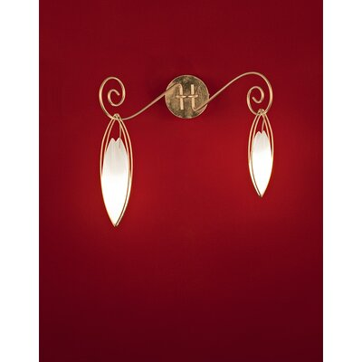 Terzani Creole De ToI 2 Light Wall Sconce