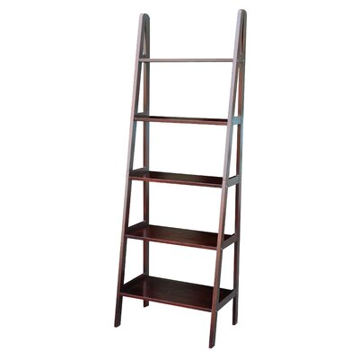 "Casual Home 72"" Ladder Bookcase"