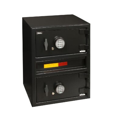 "Amsec AMSEC's ""B"" Rate Money Manager Series Undercounter Two Door Depository Safes"