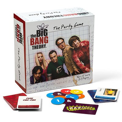 Cryptozoic The Big Bang Theory Party Game