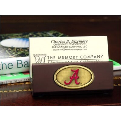 The Memory Company NCAA Business Card Holder