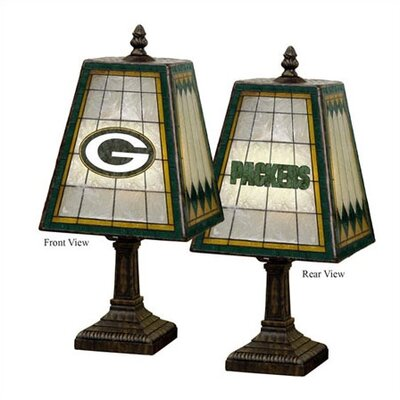 The Memory Company NFL Art Glass Table Lamp