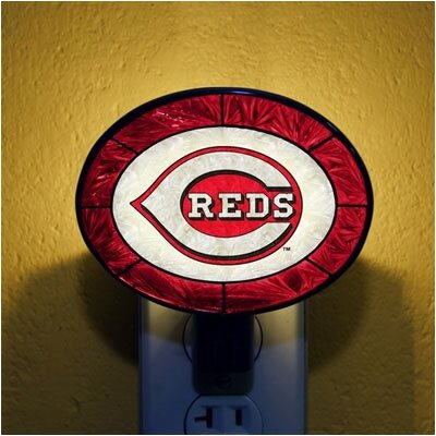 The Memory Company MLB Art Glass Night Light