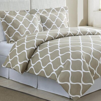 Echelon Home Banff Duvet Cover Set