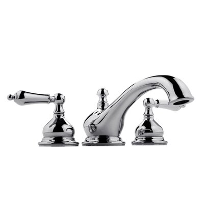Meridian Double Handle Deck Mount Roman Tub Faucet Trim with Lever Handle