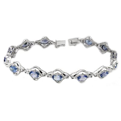 Genuine Tanzanite Link Bracelet