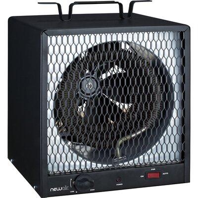 NewAir 5,600 Watt Fan Forced Compact Garage Space Heater