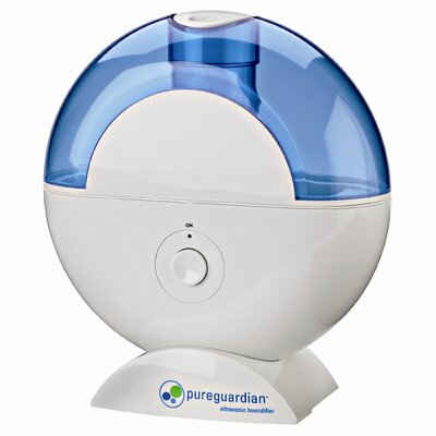 purguardian 12-Hour Ultrasonic Humidifier with Decorative Decals