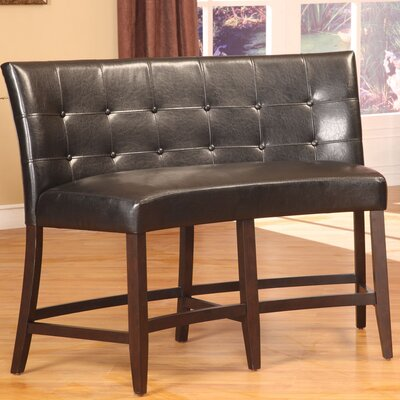 Bossa Leatherette Bench