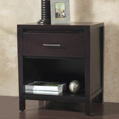 Modus Furniture Nevis Espresso Platform Bedroom Collection