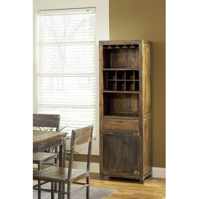 Farmhouse 8 Bottle Wine Cabinet