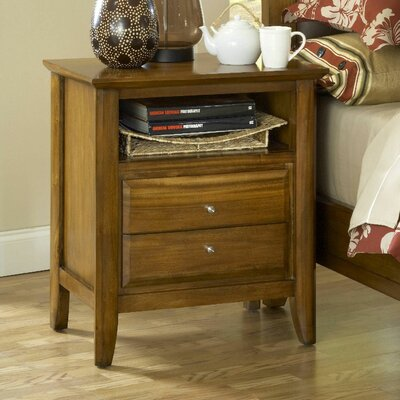 Modus City II 2 Drawer Nightstand