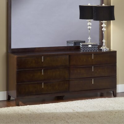 Legend Wood 6 Drawer Standard Dresser