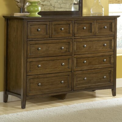Modus Furniture Paragon 8 Drawer Standard Dresser
