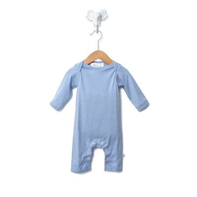 Baby Star Soy Organic Snapsuit in Sky Blue