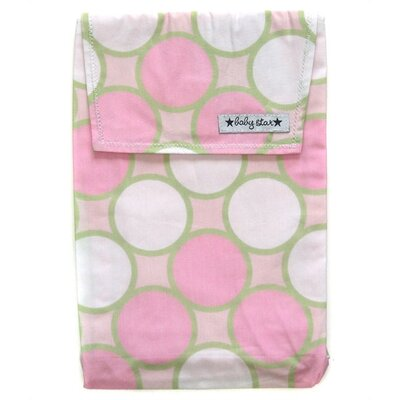 Baby Star Diaper Pouch in Tag Pink