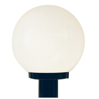 Sunset Lighting Globe 1 Light Outdoor Post Lantern