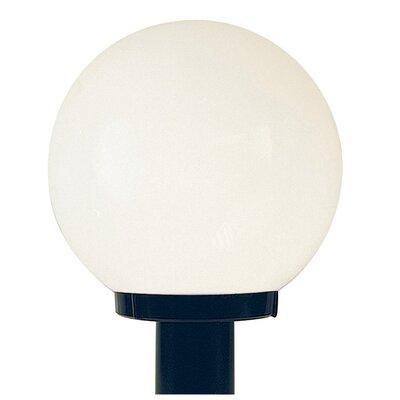 Sunset Lighting Globe 1 Light Outdoor Post Lantern Reviews Wayfair