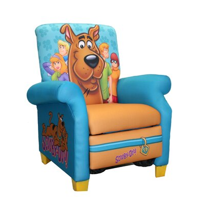 Newco Kids Scooby Doo Paws Kid's  Recliner Chair