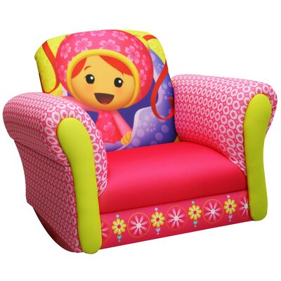 Nickelodeon Team umizoomi Milli Deluxe Kid's Rocking Chair