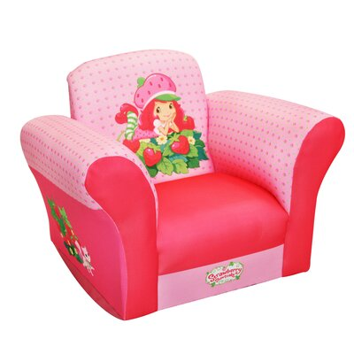 American Greetings Strawberry Shortcake Strawberries Kid's Rocking Chair
