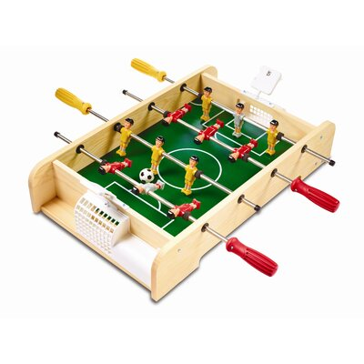 Red Tool Box Soccer Table Top Foosball