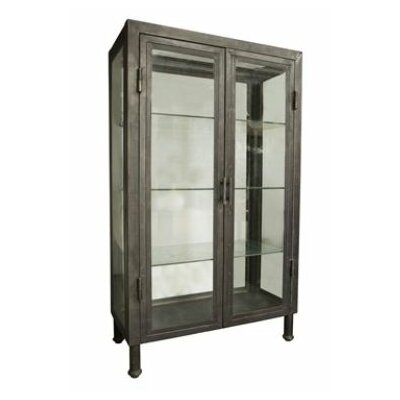Noir Metal Bar Cabinet