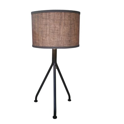 Noir Tripod 1 Light Table Lamp