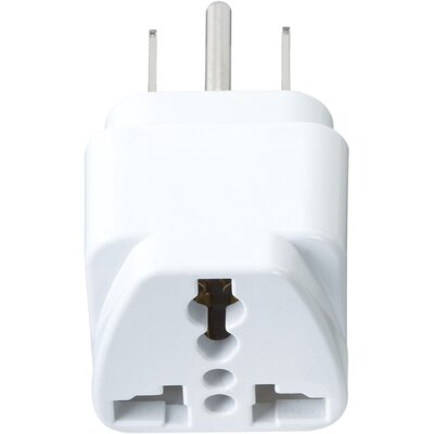Go Travel Worldwide to North / South America Adaptor Plug
