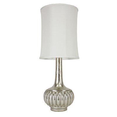 "J. Hunt Home Leaf 35"" H Table Lamp with Drum Shade"