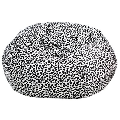 Gold Medal Bean Bags Dalmatian Print Bean Bag Chair