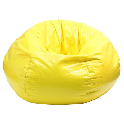 Gold Medal Bean Bags Wet Look Bean Bag Chair