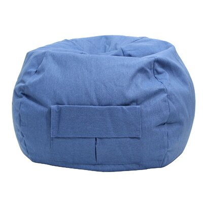 Gold Medal Bean Bags Denim Bean Bag Chair