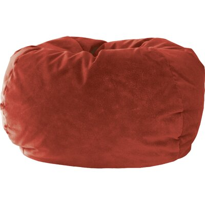 Gold Medal Bean Bags Sueded Bean Bag Chair