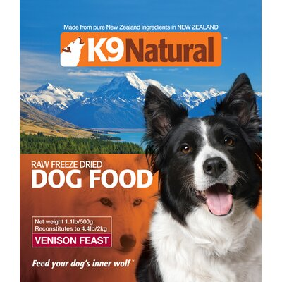 K9 Natural Venison Feast Freeze Dry Dog Food