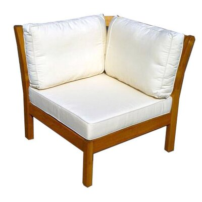Haste Garden Kamea Sectional Deep Seating Corner Chair with Cushion
