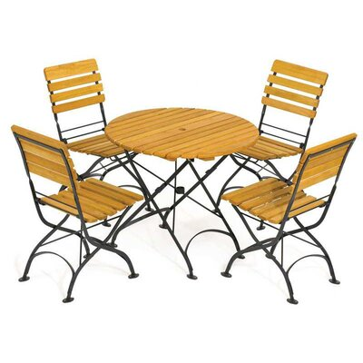 Rebecca Folding Round Dining Set