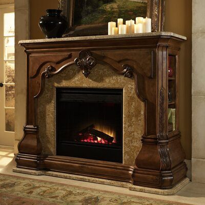 Michael Amini Tuscano Electric Insert Fireplace