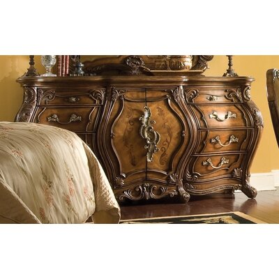 Michael Amini Palais Royale 8 Drawer Triple Combo Dresser