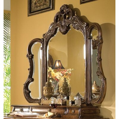 Michael Amini Palais Royale Vanity Set with Mirror