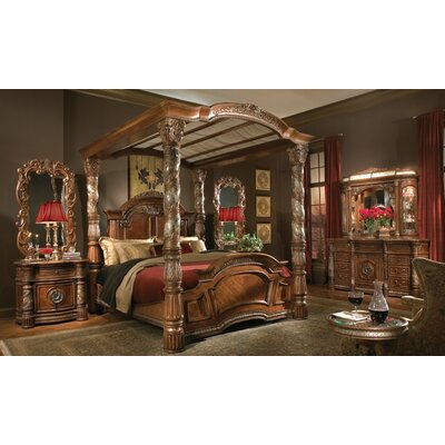 Michael Amini Villa Valencia Four Poster Bedroom Collection