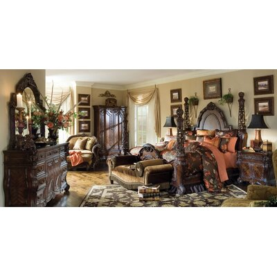Michael Amini Essex Manor Poster Bedroom Collection