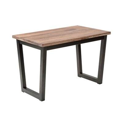 Sunpan Modern Porto Wood Entryway Bench