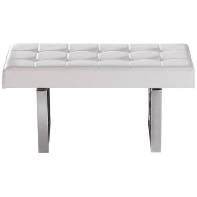 Urbano Faux Leather Bench