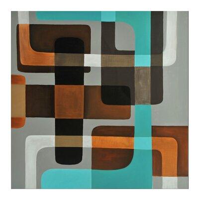 Sunpan Modern Shapes Painting Print
