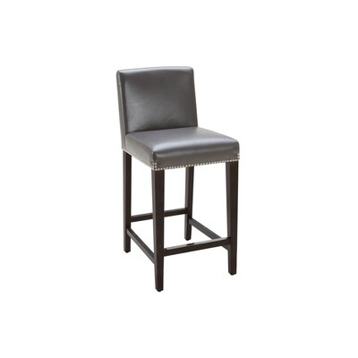 """Sunpan Modern Brooke 25.5"""" Bar Stool with Cushion"""